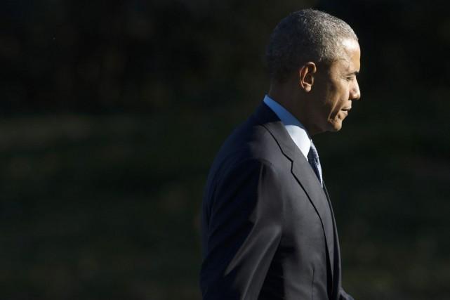 Barack Obama avait lui-même lancé en avril 2010... (Saul Loeb, AFP)