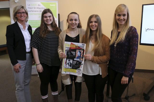 Le Comité culturel jeunesse a lancé la programmation... (Audrey Tremblay)