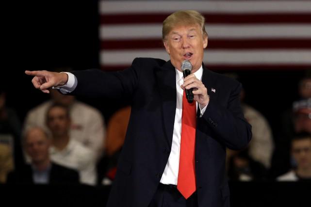 Donald Trump... (Nam Y. Hum, AP)