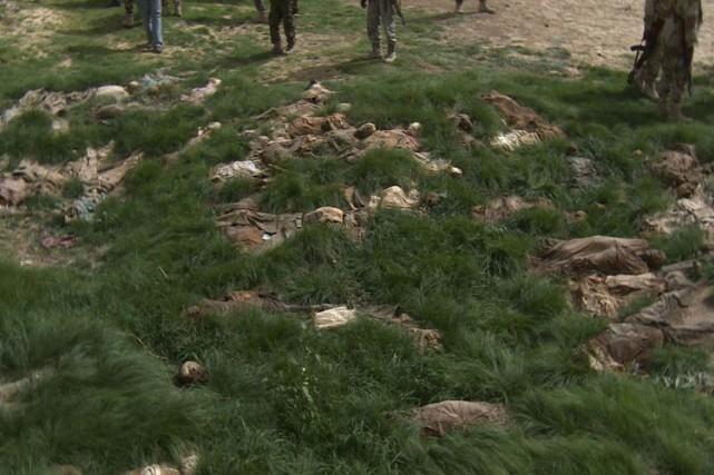 D'après un ancien de Damasak, les assaillants ont... (AFP)