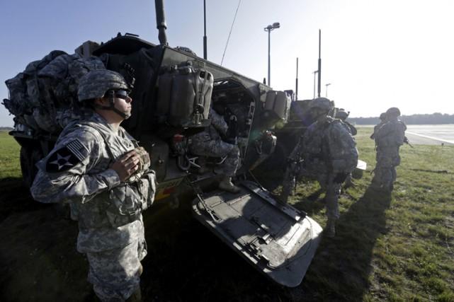 Le Pentagone n'a pas indiqué précisément dans quels... (ARCHIVES REUTERS)