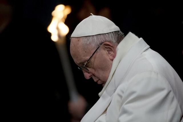 Depuis son arrivée au Vatican, le pape François... (AP)