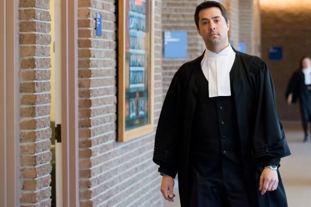 L'avocat de la défense Me Jean-Guillaume Blanchette a... (Spectre Média, Jessica Garneau)