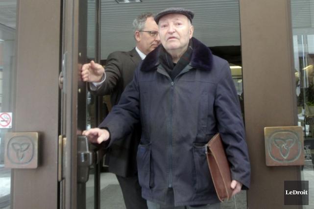 L'ex-prêtre Jacques Faucher a été reconnu coupable de... (Etienne Ranger, Archives LeDroit)
