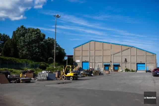 Le hangar numéro un du port de Trois-Rivières.... (Archives Le Nouvelliste)