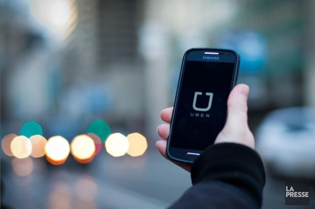 Uber a lancé une campagne en ligne, mercredi,... (Olivier Jean, Archives La Presse)