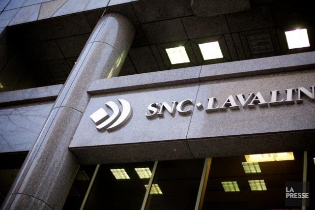 SNC-Lavalindit avoir reçu 64 millions d'euros, soit environ... (Archives La Presse)