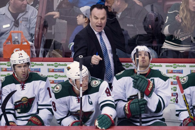 John Torchetti a pris la relève de Mike Yeo... (PHOTO ARCHIVES PC)