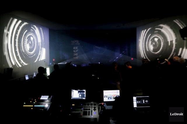 Un spectacle son et lumière sera présenté dans... (Simon Séguin-Bertrand, LeDroit)