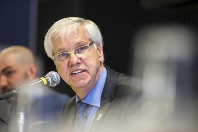 Daniel McMahon, admet que l'UQTR devra être beaucoup... (Olivier Croteau)