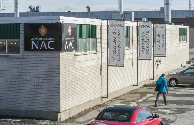 NAC Systems, qui fabrique des armoires de cuisine... (Spectre Média, Frédéric Côté)