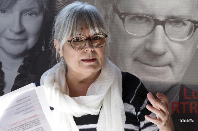 La présidente fondatrice des Printemps meurtriers, la romancière... (Alain Dion, La Voix de l'Est)