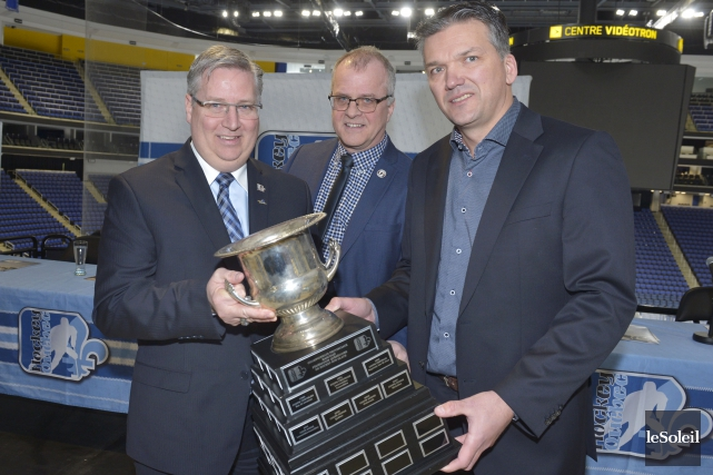 Sylvain B. Lalonde, directeur général de Hockey Québec,... (Le Soleil, Jean-Marie Villeneuve)