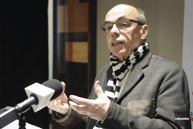 L'ancien député péquiste Denis Trottier... (Archives Le Quotidien, Mariane L. St-Gelais)
