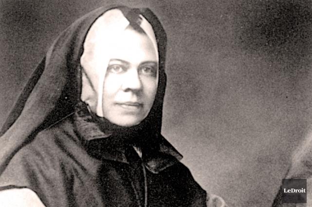 La supérieure fondatrice des Soeurs grises de Bytown,... (Archives LeDroit)