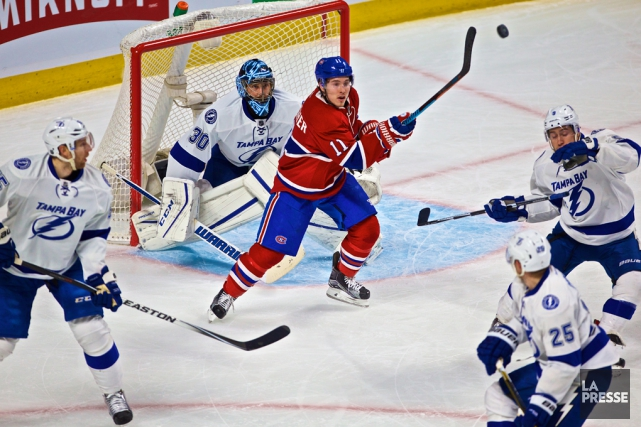 Si dominant face au Canadien lors des trois... (Archives La Presse)