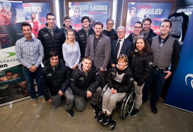 Une première cohorte d'athlètes bénéficiera du legs des... (Spectre Média, Jessica Garneau)