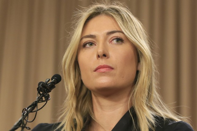 La Russe Maria Sharapova... (Archives, Associated Press)