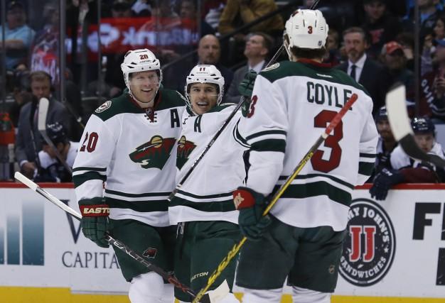 Si le Wild du Minnesota continue de jouer... (AP, David Zalubowski)