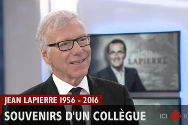 Pierre Bruneau en entrevue à RDI... (PHOTO TIRÉE D'UNE VIDÉO SUR TWITTER)