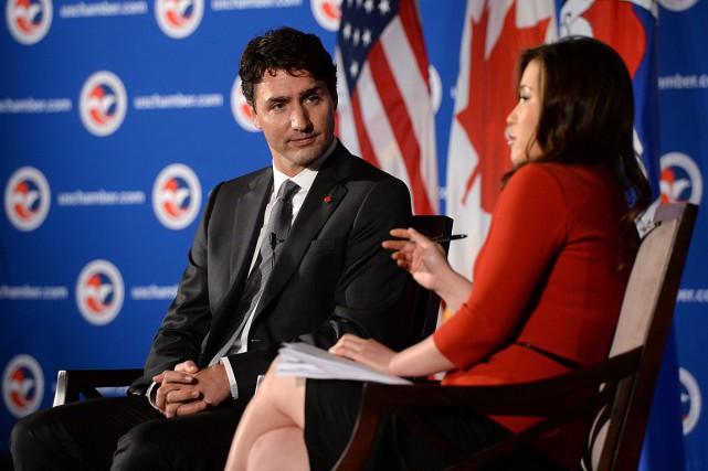 Le premier ministre s'adresse à la Chambre de... (Photo Sean Kilpatrick, PC)