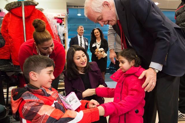 Le ministre de l'Immigration, John McCallum, était à... (Photo Nathan Denette, PC)
