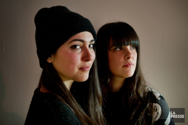 Le duo de musiciennes Milk & Bone... (PHOTO MARCO CAMPANOZZI, ARCHIVES LA PRESSE)