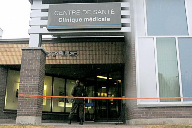 Des cambrioleurs ont fait irruption dans une clinique... (Photo collaboration spéciale Éric Beaupré)