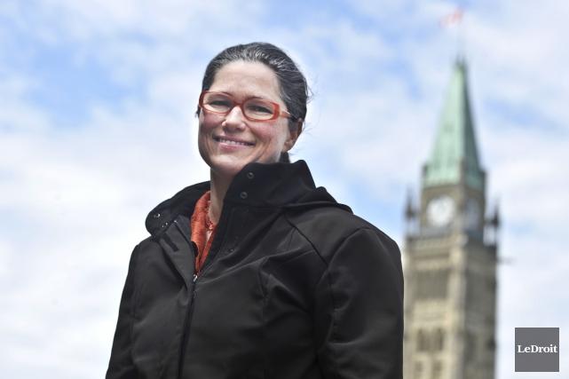 La présidente de l'Association canadienne des employés professionnels,... (Martin Roy, Archives LeDroit)