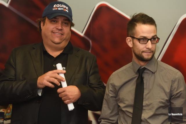 Le directeur général du GP3R, Dominic Fugère, ainsi... (Photo: François Gervais Le Nouvelliste)