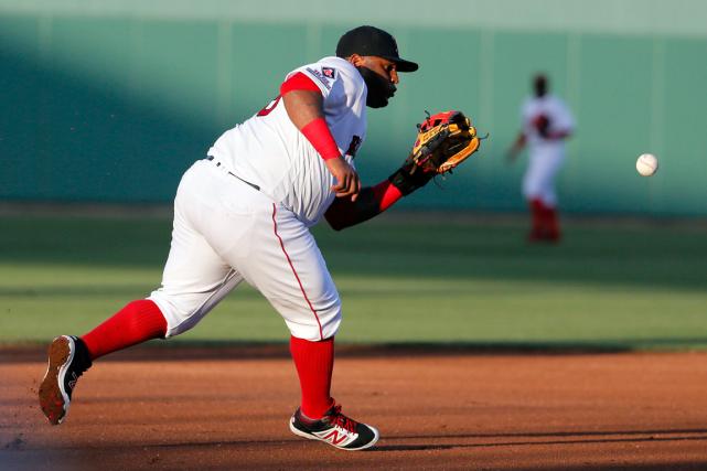 Pablo Sandovala semblé être bien au-dessus de son... (Photo Tony Gutierrez, AP)
