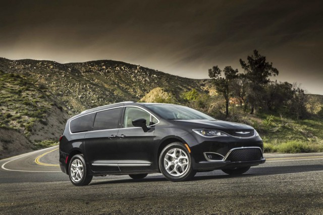 La Chrysler Pacifica.... (Photo : Fiat-Chrysler)