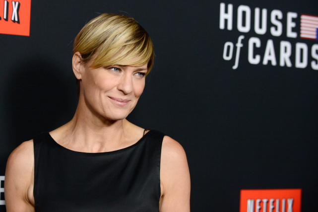 L'actrice Robin Wright... (PHOTO ARCHIVES AFP)