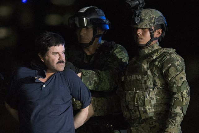Joaquin « El Chapo » Guzman était considéré comme le narcotrafiquant... (PHOTO REBECCA BLACKWELL, ARCHIVES ASSOCIATED PRESS)