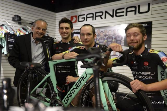 Louis Garneau vivra une dernière saison avec les... (Le Soleil, Erick Labbé)