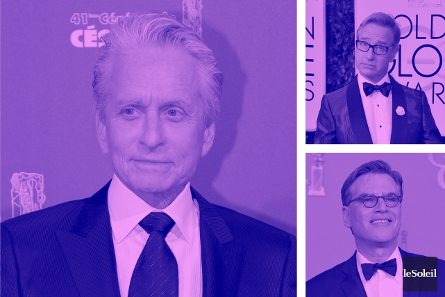 Michael Douglas remet sa collection de films au musée de Kodak (Infographie Le Soleil)