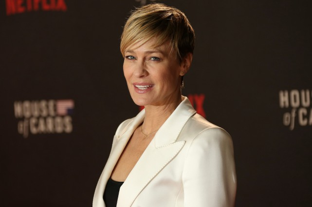 La comédienne Robin Wright... (PHOTO ARCHIVES AP)