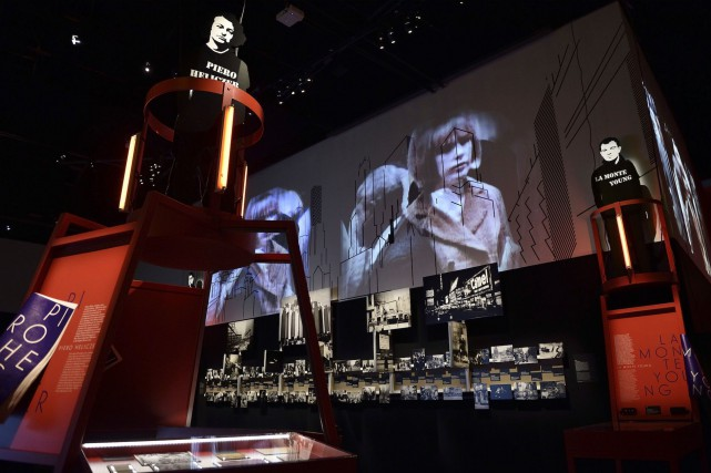 L'exposition New York Extravaganza invite à la Philharmonie... (AFP, Eric FEFERBERG)