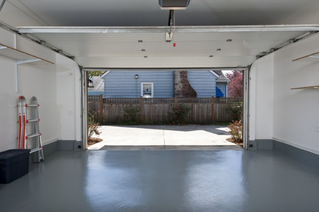 Si le garage fait partie de la maison... (PHOTO THINKSTOCK)