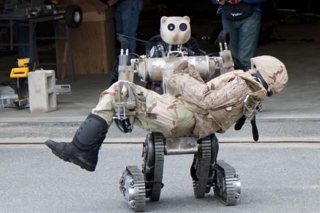 Le robot Anthrotronix utilisé par l'armée américaine à... (Image fournie parAnthrotronix)