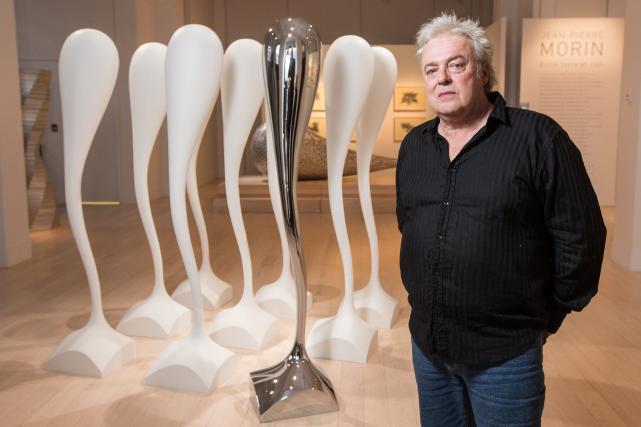 Jean-Pierre Morin fait l'objet d'une exposition d'envergure au... (PHOTO HUGO-SÉBASTIEN AUBERT, archives LA PRESSE)