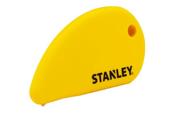 Le couteau de sûreté à lame en céramique... (Stanley)