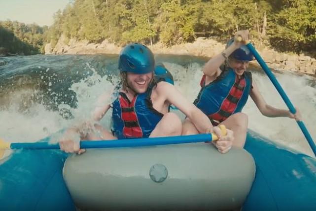 Tourisme Québec vient de frapper un grand coup avec une publicité originale qui... (Image tirée de la vidéo de Tourisme Québec)