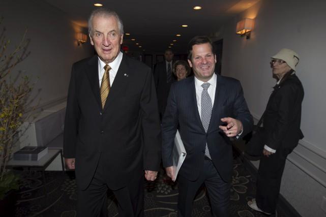 Le président émérite du conseil d'administration de Bombardier,... (PHOTO CHRISTINNE MUSCHI, ARCHIVES REUTERS)