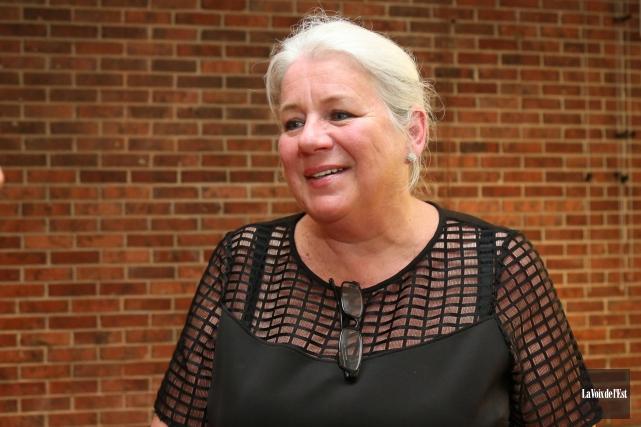 Anne Boyer, coauteure de Yamaska.... (Julie Catudal, Archives La Voix de l'Est)