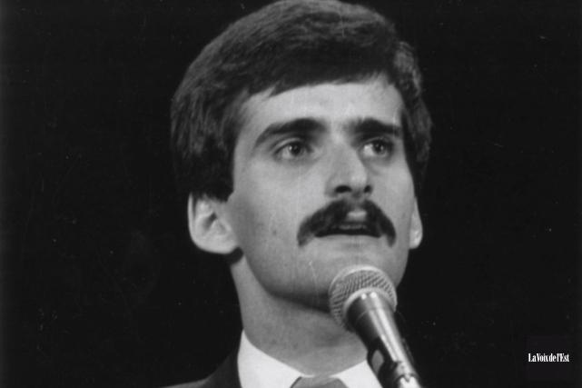 Jean Lapierre en 1979.... (Archives, La Voix de l'Est)