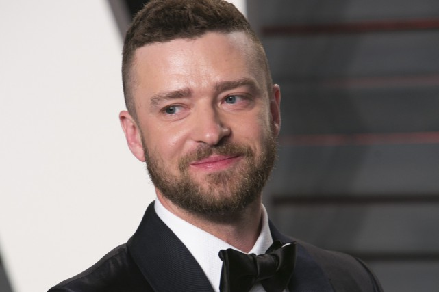 Justin Timberlake... (Photo ADRIAN SANCHEZ-GONZALEZ, AFP)