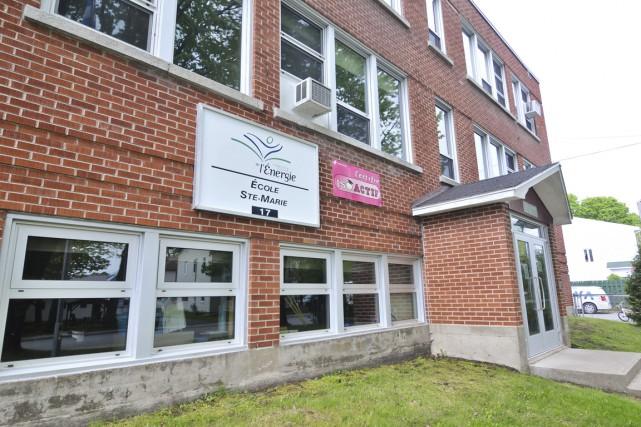 L'école Sainte-Marie de Saint-Boniface... (Archives Le Nouvelliste)