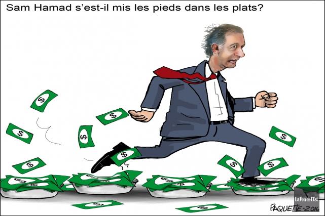 Serge Paquette, La Voix de l'Est... (Serge Paquette, La Voix de l'Est)