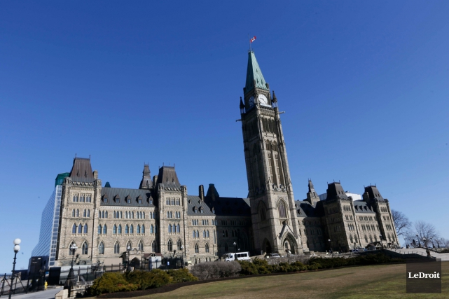 La colline du Parlement, à Ottawa... (Simon Séguin-Bertrand, LeDroit)